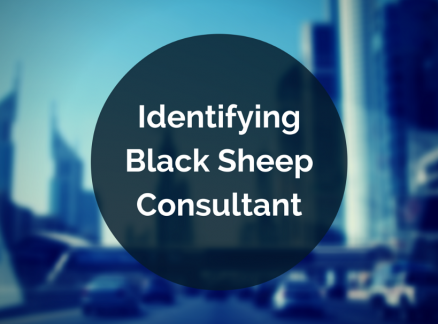 Locating the Black Sheep from the Flock of Consultants