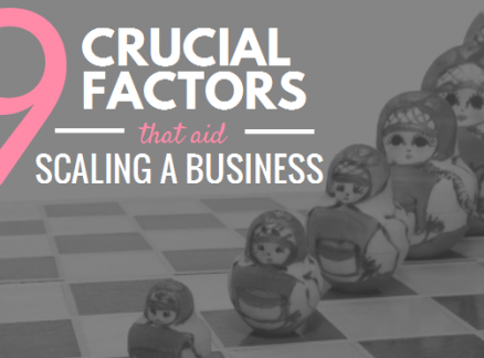 9 Crucial Factors that aid Scaling a Business