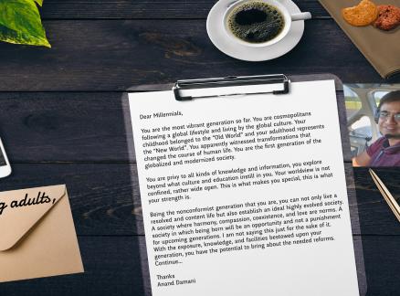 An open letter to Twentysomethings