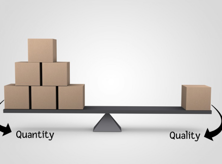 Quantity and Quality — Two Parameters of Improvement