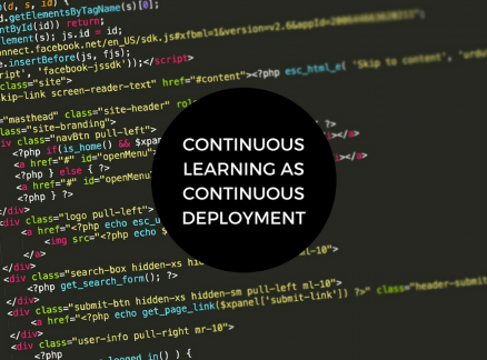 Learning while being on the job as a Developer