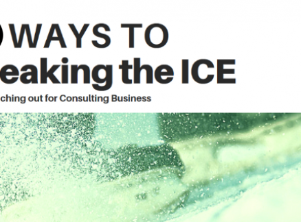 9 Ways to Breaking the Ice and Reaching out for Consulting Business