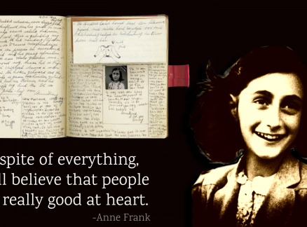 Five Anne Frank Quotes that are an Epitome of Human Goodness