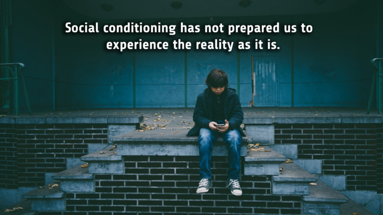 Social conditioning and mindfulness