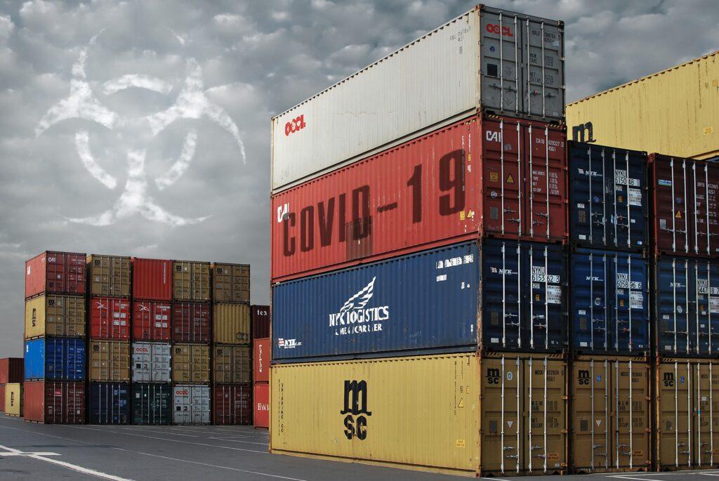 COVID container