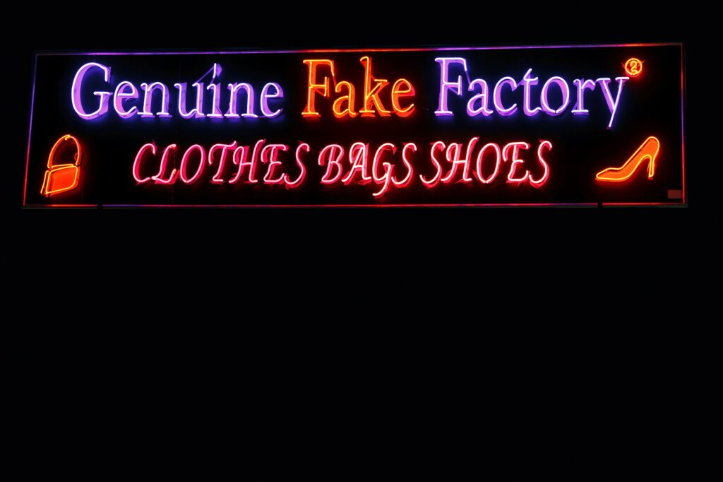 genuine fake factory