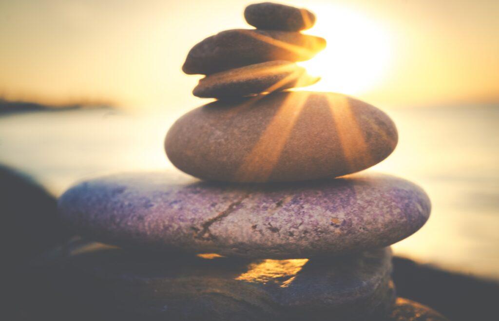 balanced stones